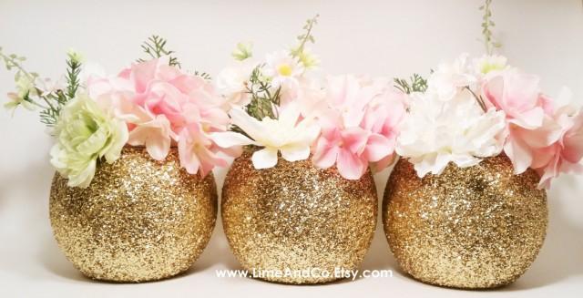 Gold Wedding Decor Wedding Centerpiece Baby Shower