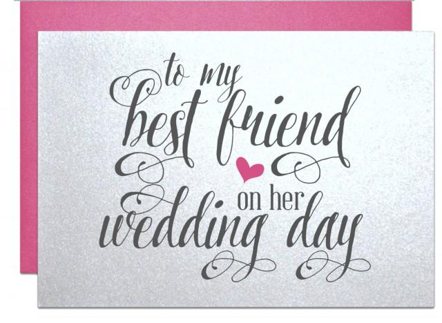 Gift For Best Friend On Wedding Day