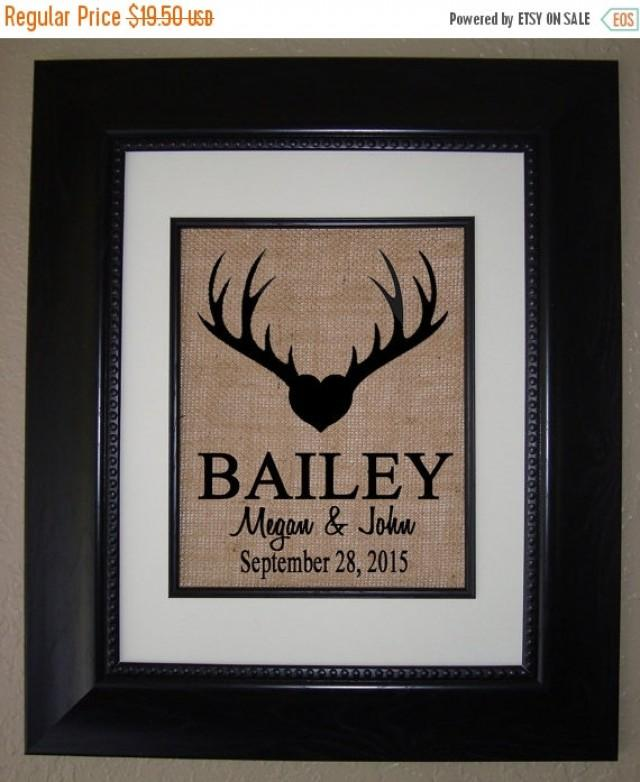 35 Off Sale Personalized Deer Antler Camo Burlap Print Bridal
