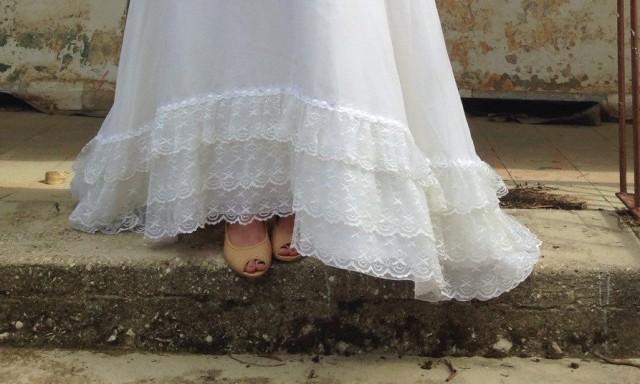 Sale beautiful vintage wedding dress second hand for Vintage wedding dresses sale