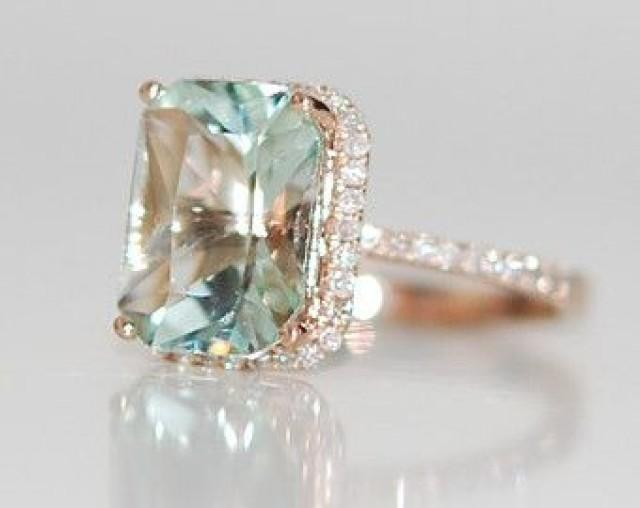 Rose Gold Engagement Ring Peach Sapphire 1 61ct Mauve