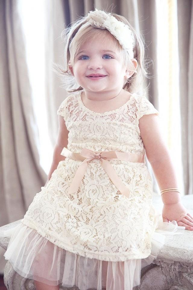 Lace Baby Dress, Lace Girl Dress, Flower Girl Dress, Lace Dresses ...