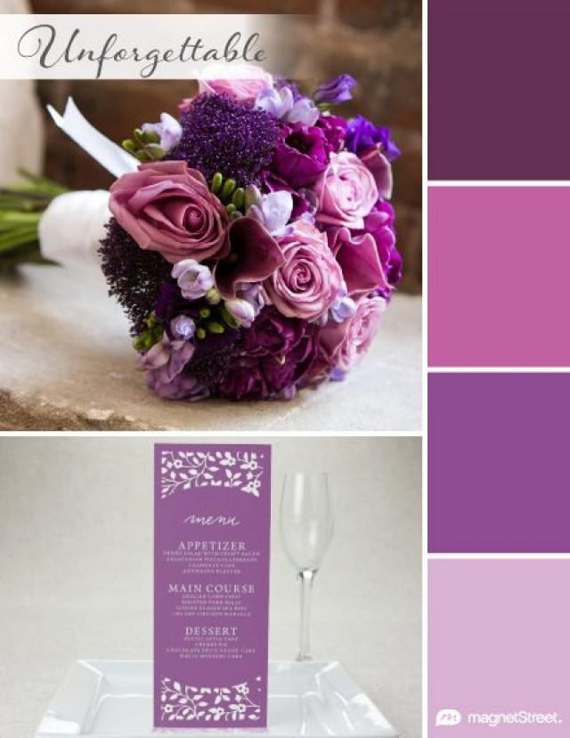 top 2016 wedding color trends spring summer fall winter 2472820