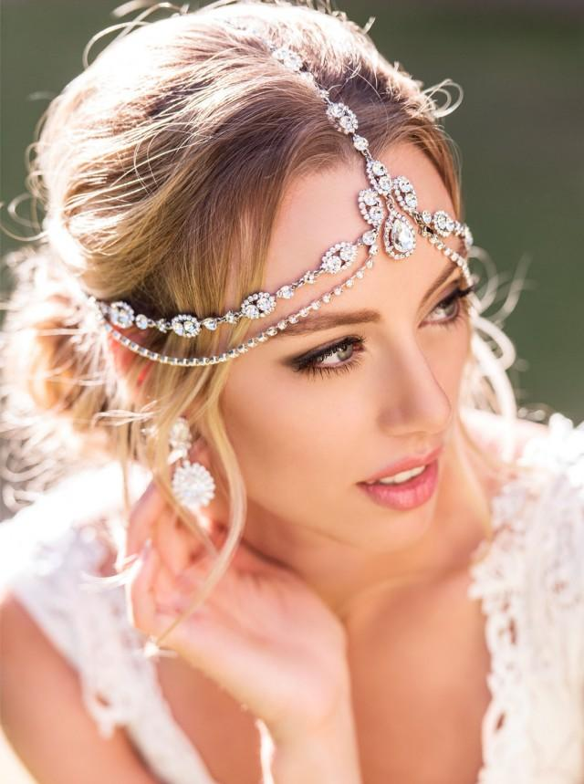 Bohemian Wedding Hair Accessory Bridal Headpiece
