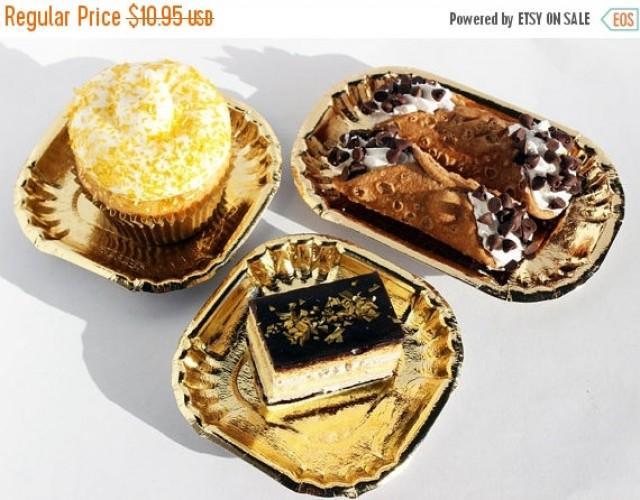 ... bling paper plates 50 gold foil mini plates gold paper plates wedding dessert plates hors d ... & Paper Plates For Wedding - Wedding Photography