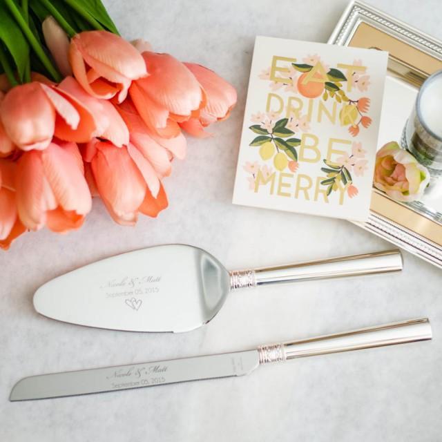 Vera Wang Wedding Cake Knife Set
