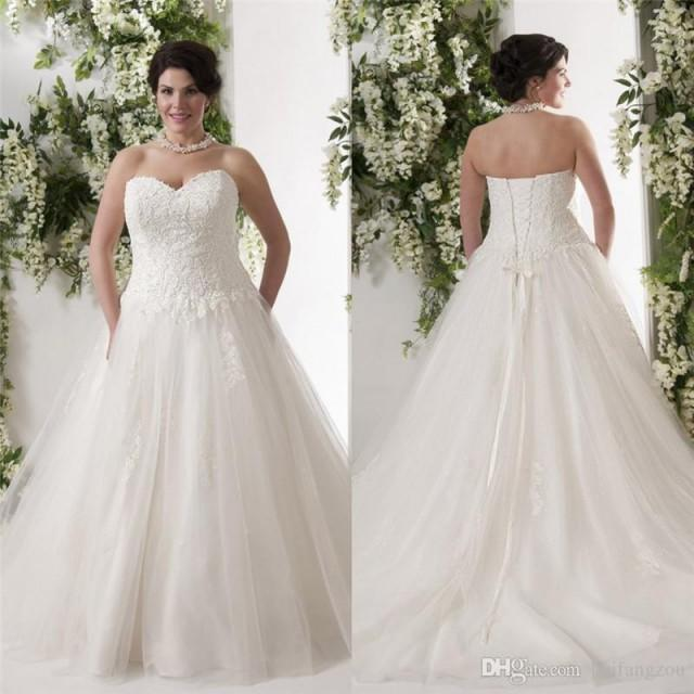 Wedding Ball Gowns Sweetheart Neckline: New Arrival Lace Wedding Dresses Sweetheart Neckline 2016