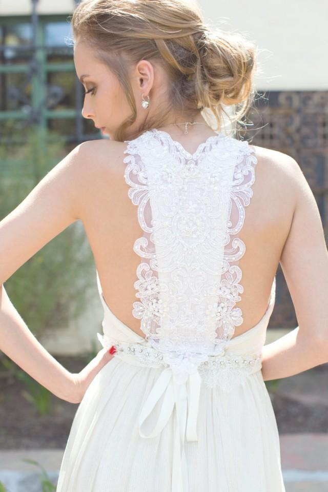 White Bridal Dress Beach Wedding Dress Bridal Gown Silk Chiffon Lace Sexy Back Low Back For Destination Beach Weddings Off White 2479280 Weddbook,Colour Combination Pakistani Wedding Guest Dresses 2019