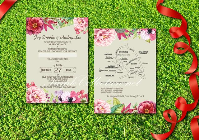 Floral Wedding Invitation Card 2482473 Weddbook