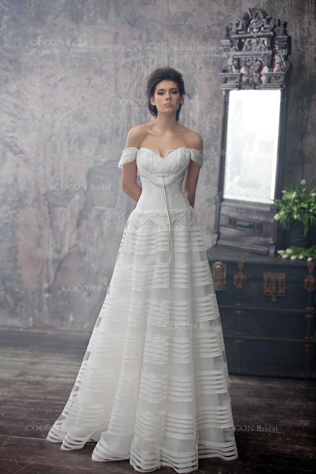 Haute Couture Wedding Dress Romantic Wedding Gown From Silk Organza ...