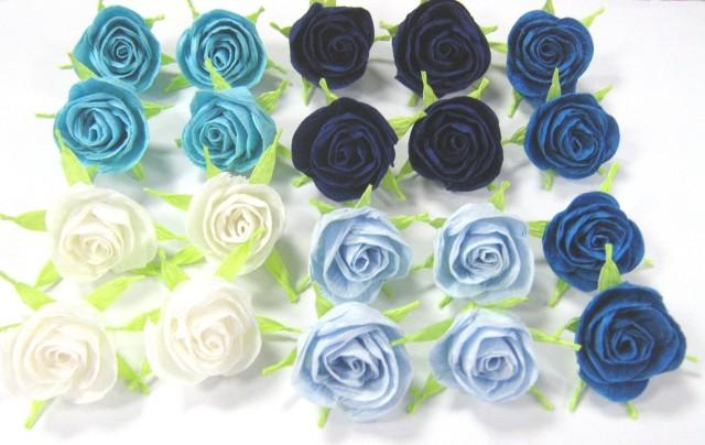 10 crepe paper mini roses centerpiece decor cupcake topper flower 10 crepe paper mini roses centerpiece decor cupcake topper flower paper royal navy peacock wedding diy dekor paper roses favor baby shower 2483316 mightylinksfo
