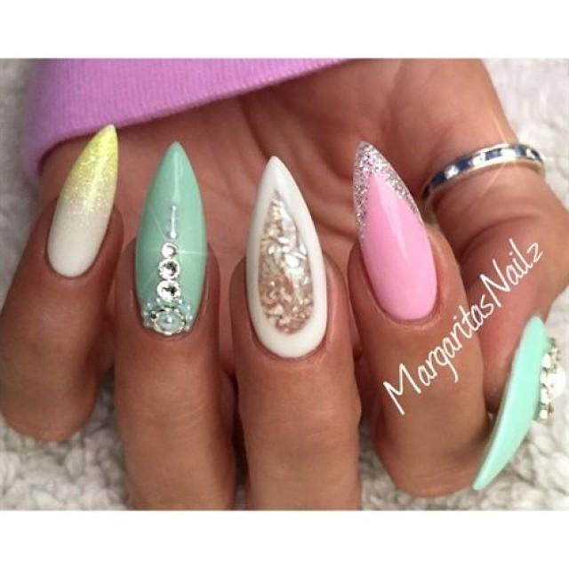 Stiletto Nails By MargaritasNailz From Nail Art Gallery #2487078 ...