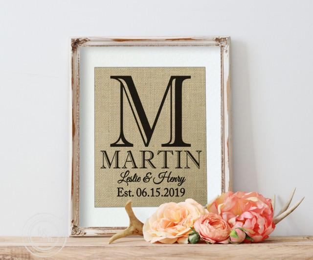 Mrs. Rustic Wedding Sign, Signage, New Last Name, Family Name Sign ...