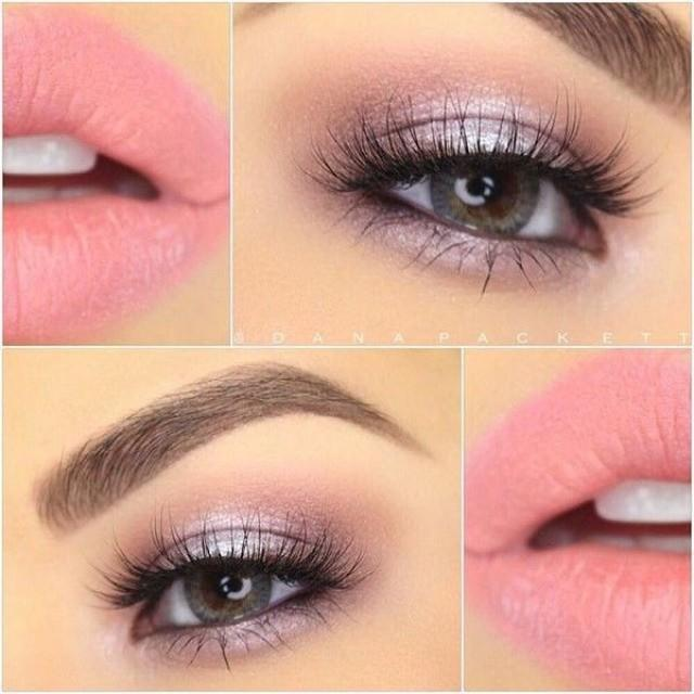 Gorgeous Soft Pink And Lavender Look With Makeup Geek Eye Shadows