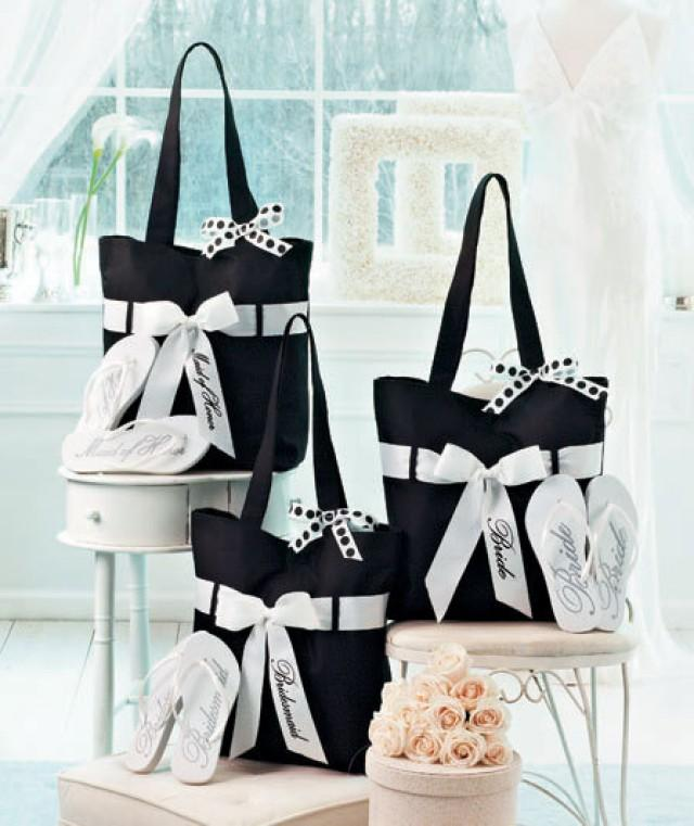 07a50938f2d9 Wedding Tote And Flip-Flop Sets