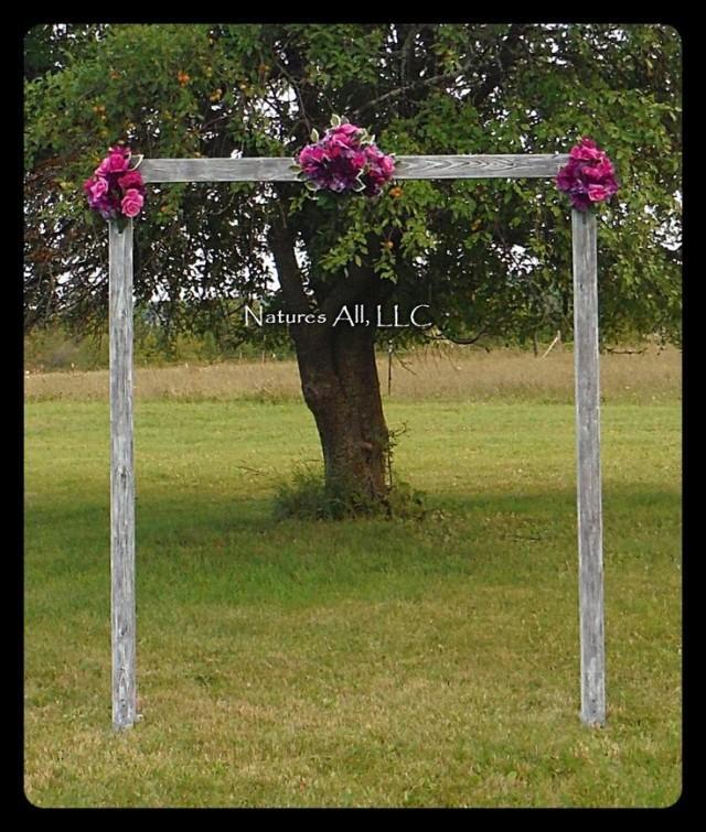 Vintage Diy Wedding Arch Ideas: DIY Wedding Arch/Country Wedding Decor/Rustic Wedding Arch