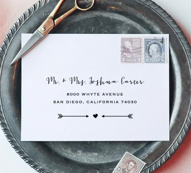 printable envelope address template wedding envelope address fully .