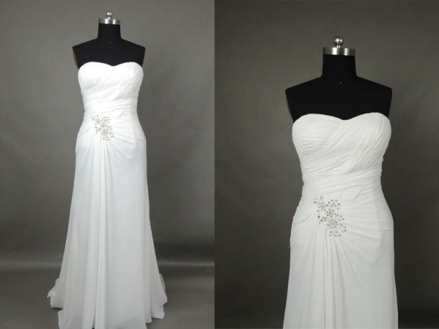 Inexpensive Beach Wedding Dresses