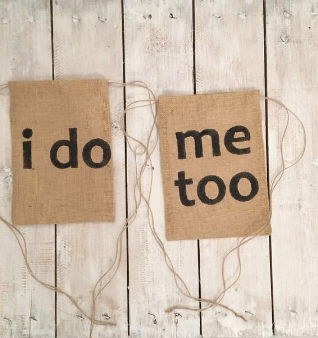 I Do Me Too Wedding Money Dance Bag Dollar Bridal Burlap 2498225 Weddbook