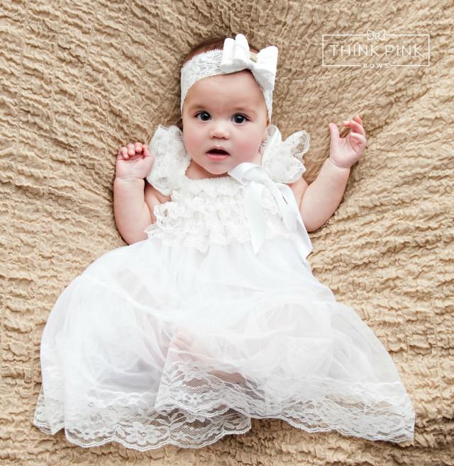 Baby Dress Flower Girl Dress Rustic Flower Girl Country