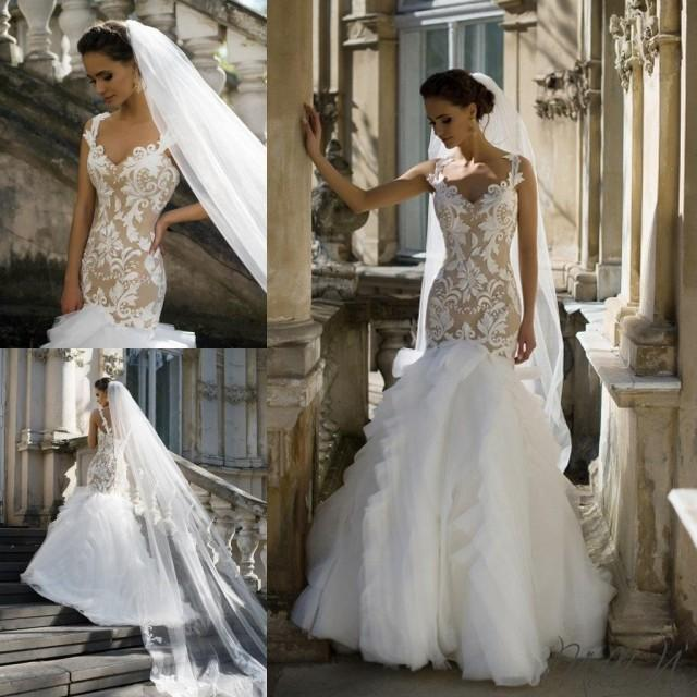 New Designer Milla Nova Wedding Dresses 2016 Tulle Sexy
