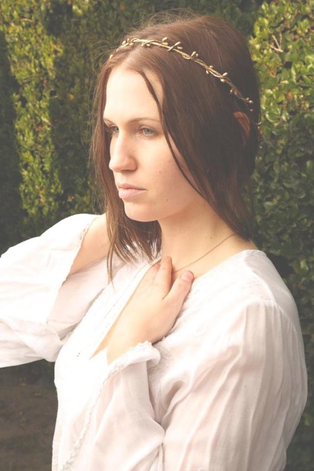 Elven Circlet - Elven Headpiece - Medieval Crown ...