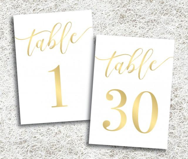 It's just a photo of Nifty Free Printable Table Numbers 1-30