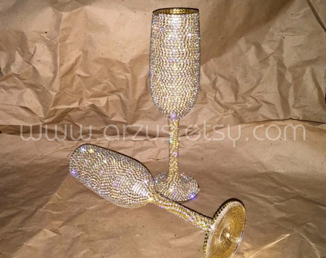 decorate champagne glasses. Custom Wedding Champagne Glasses Toasting Flutes For Bride  Groom Gift Decorations And 2504755