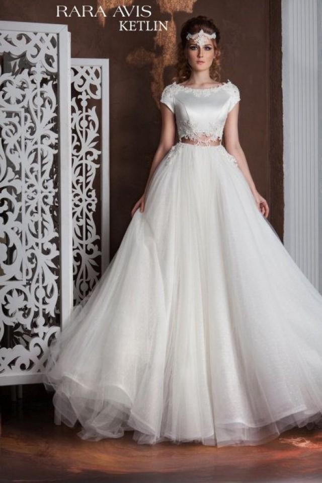 Unique wedding gown ketlin simple wedding dress bride for Simple wedding dresses under 200