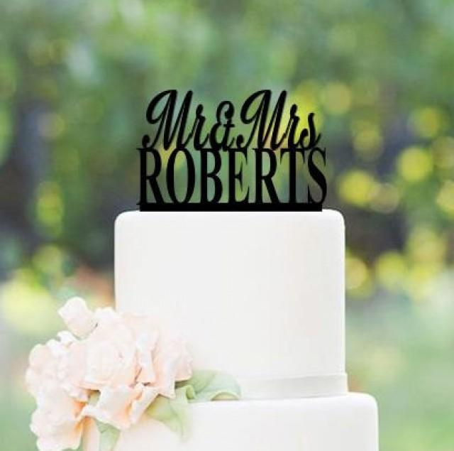 Fifty Cake Topper Wood
