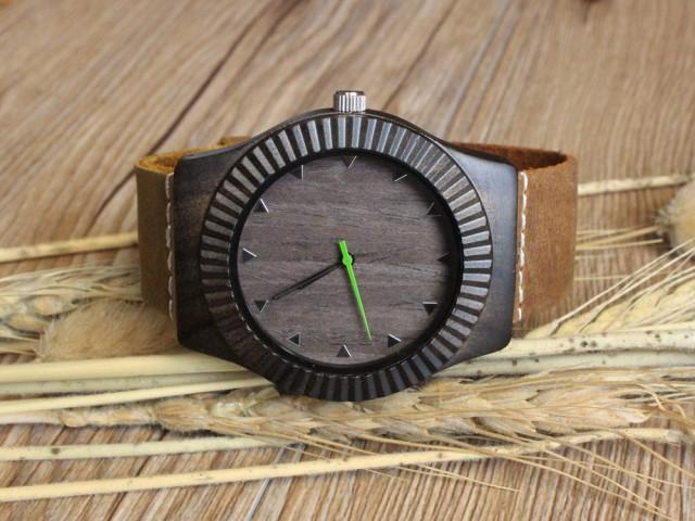 Personalized Mens Gift Fiance Wedding For Husband Engraved Wooden Watch Boyfriend Birthday Men 2507102
