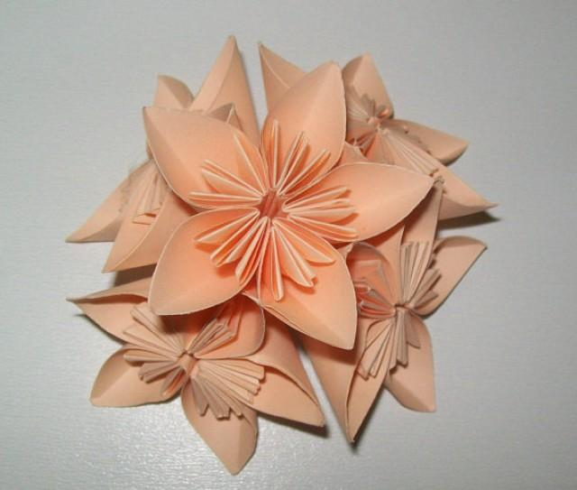 Paper origami flower kusudama flower kusudama origami flower set paper origami flower kusudama flower kusudama origami flower set of 100 origami flower paper flower for wedding wedding flower 2507245 weddbook mightylinksfo Gallery