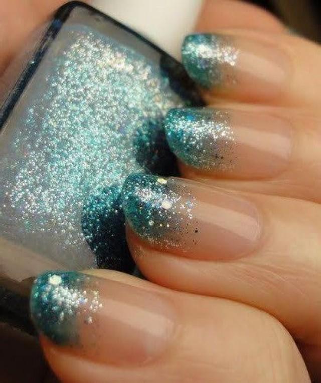12 Amazing Diy Nail Art Designs: DIY Easy Glitter Nail Arts #2507612