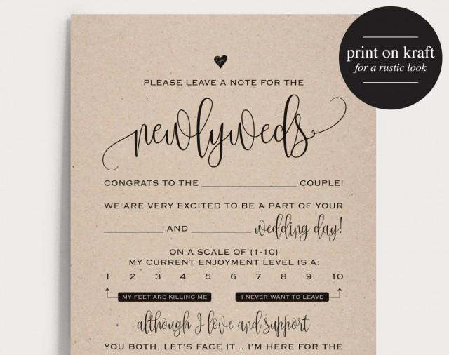 Wedding mad libs mad lib printable wedding advice mad for Guest libs wedding edition template
