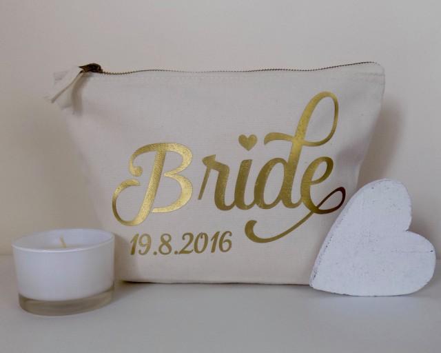 Personalised Make Up Bag Or Wash Bag