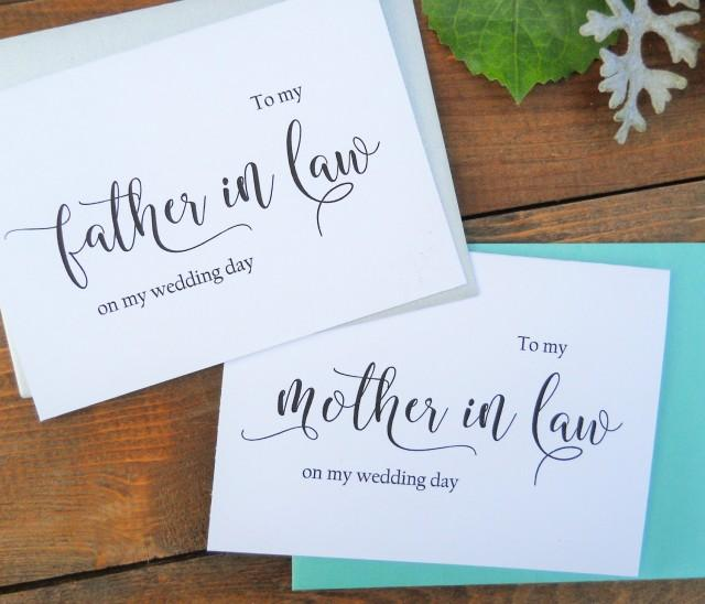 to my mother in law card to my father in law card mother in law gift father in law gift mother of the bride father of the bride 2510287 weddbook