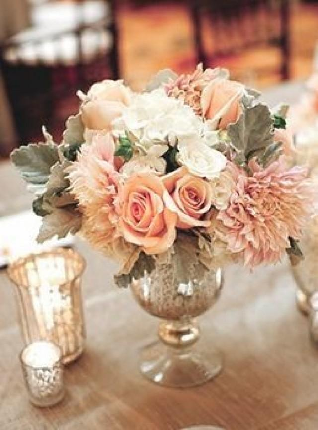 Romantic Vintage Wedding Flowers Traditional 2511784 Weddbook