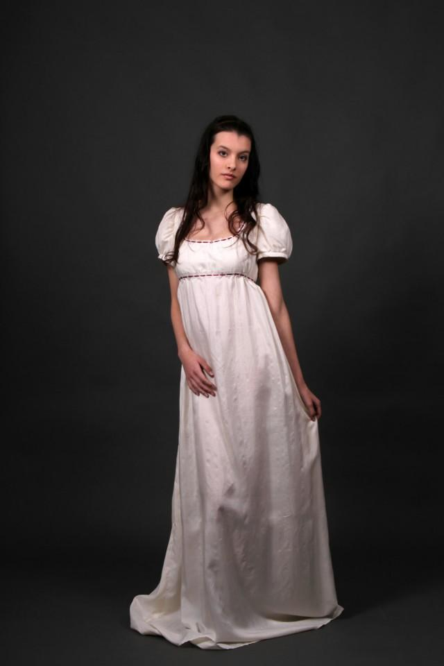 Desiree Regency Wedding Dress, Empire Waist Wedding Dress, Bespoke ...