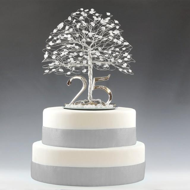 Th Anniversary Couple Cake Topper