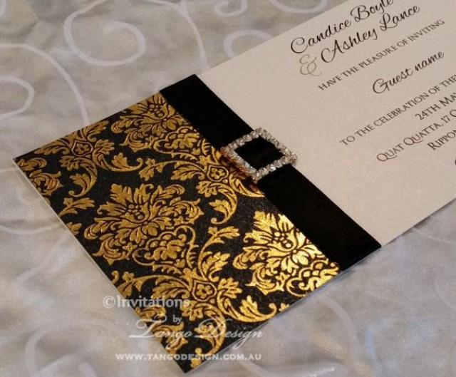 Wedding invitations x24 gold foil silver or pink vintage wedding wedding invitations x24 gold foil silver or pink vintage wedding invitation and crystal sparkle embellishment with response card package 2518751 stopboris Images