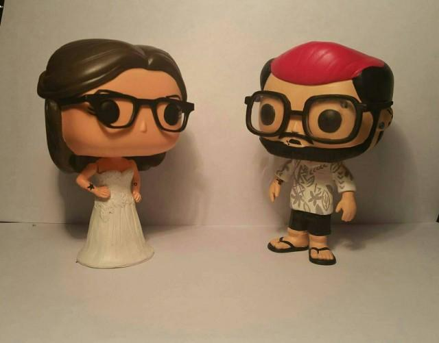 Custom Funko Pop Wedding Cake Toppers - Made To Look Like ...