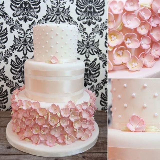 Wedding Cake Sugar Flowers: Melissa L'Abbe Cakes