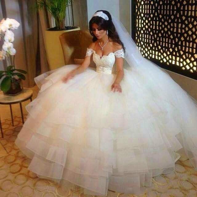 Affordable Wedding Gowns Online: Plus Size 2016 Wedding Dresses A-Line Off Shoulder Lace