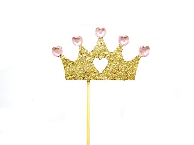 Princess St Birthday Cake Topper