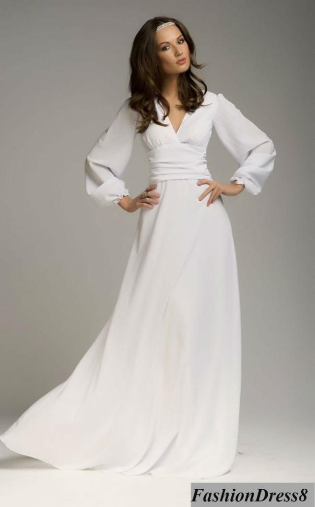 Maxi Dress Woman, Wedding White Dress Evening,Chiffon Sexy Dress ...