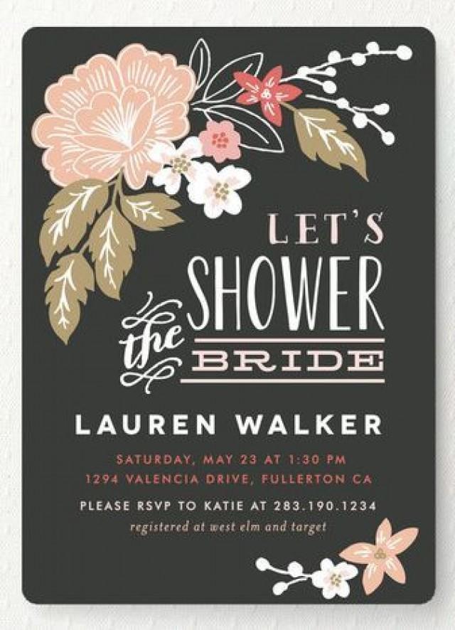 Pressed flowers bridal shower invitations 2527082 weddbook filmwisefo