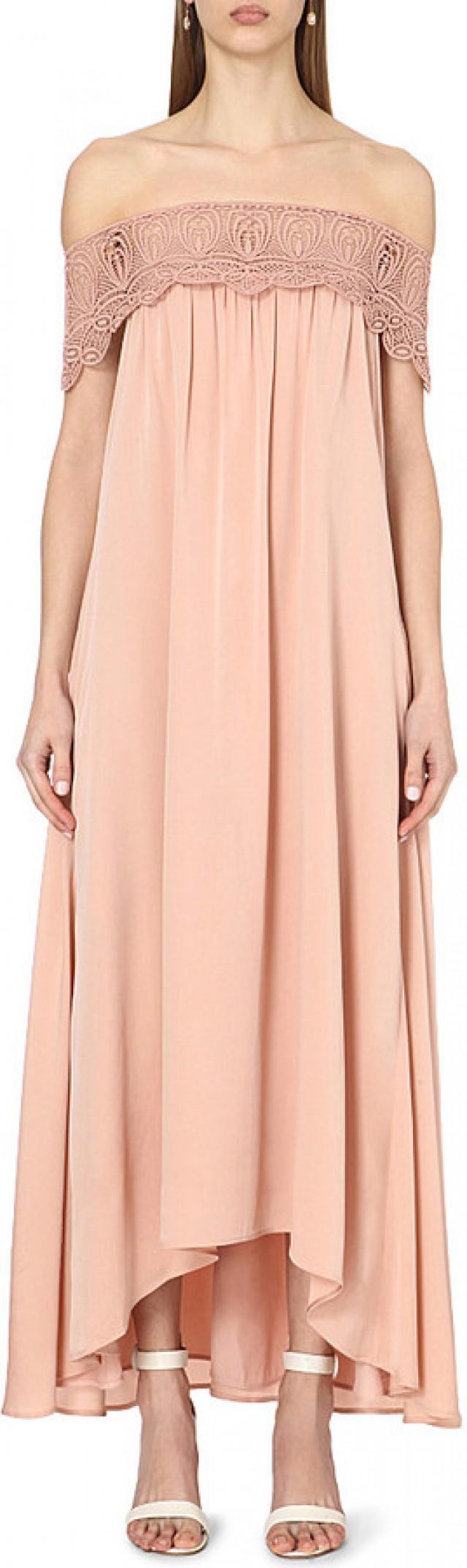 94b1777da6fd SELF-PORTRAIT Bardot Off-the-shoulder Bridesmaid Dress #2527568 - Weddbook