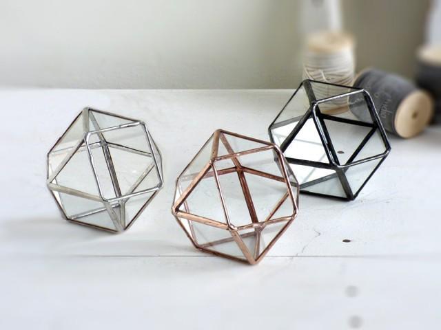 Wedding Ring Box One Mini Geometric Wedding Ring Box Use