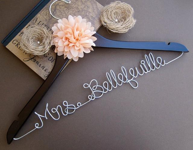 Wedding Gifts From Maid Of Honor To Bride: SALE Wedding Hanger / Bridesmaid Gift / Bridal Hanger