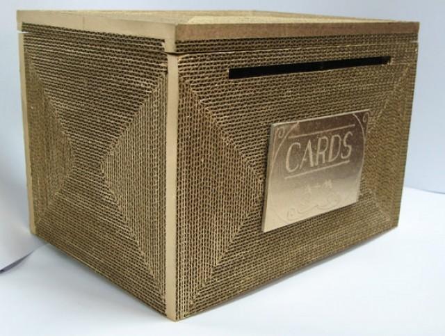 wedding card box rustic card box wedding card holder